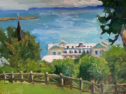 'Chippewa Hotel -- Mackinac Island' by Lori Feldpausch