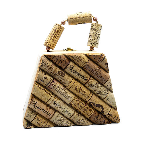 Medium Cork Purse by Jean Ackerman