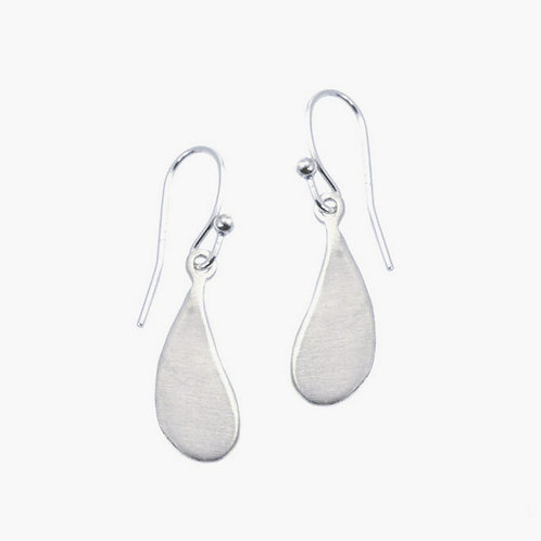 Swing Small Drop Silver Earrings by Philippa Roberts