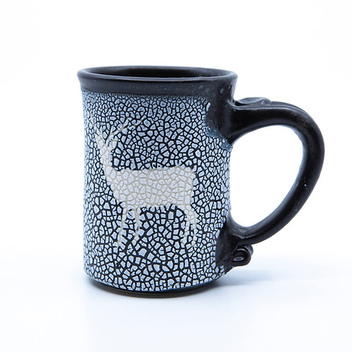 Deer Mug by Barbara Glynn Prodaniuk