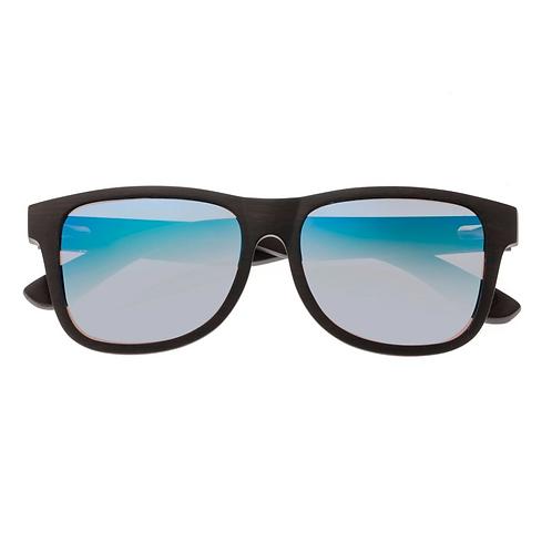 Solana Ebony Wood Square Sunglasses by Earth Wood