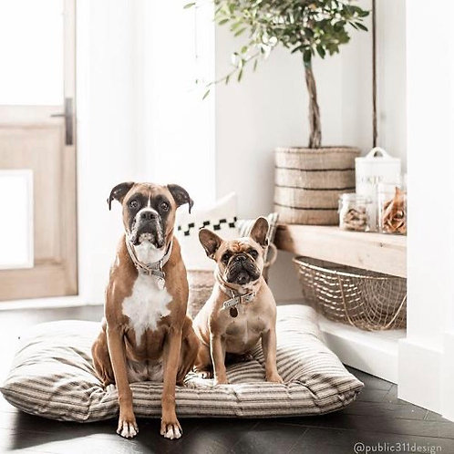Modern Boho Dog Bed - LARGE