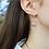 Thumbnail: Mini Cresting Wave Hoop Earrings by Beth Millner