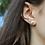 Thumbnail: Mini Cresting Wave Post Earrings