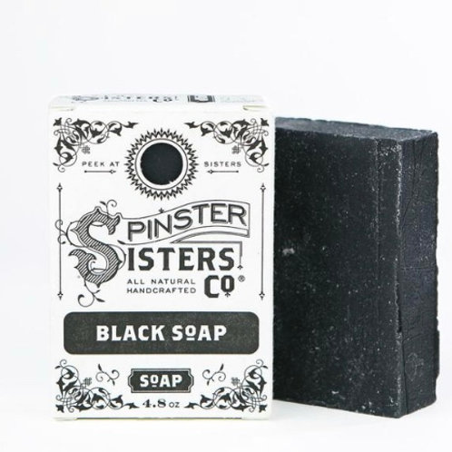 Black Soap by Spinster Sisters Co.