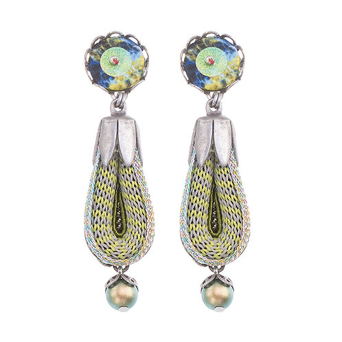 Indigo Cosmo Earrings by Ayala Bar (H1349)
