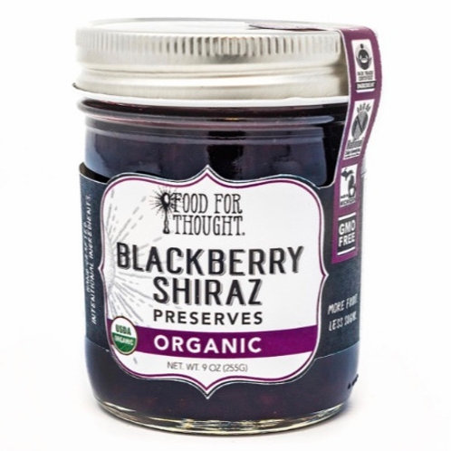 Organic Blackberry Shiraz Preserves by Food For Though