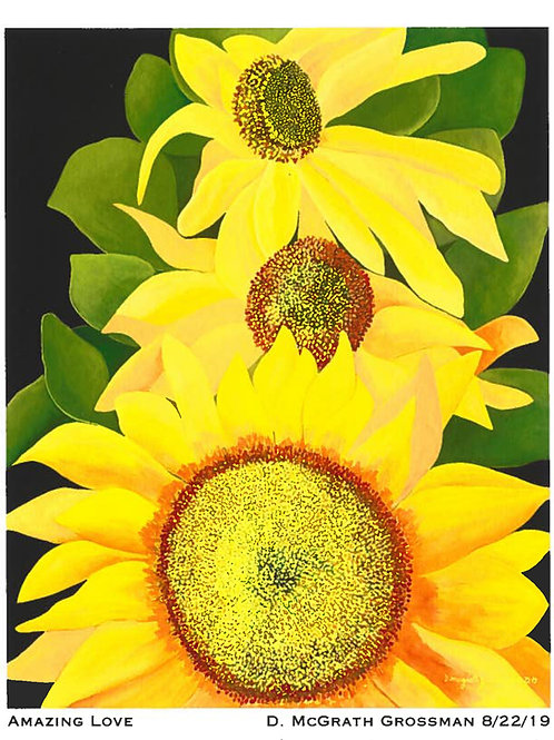 'Amazing Love' Acrylic on Canvas By D. Grossman McGrath