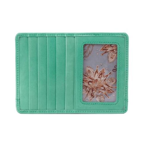 Euro Slide Wallet in Seafoam Green by HOBO