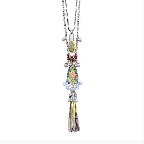 Fiesta Green Spirit Necklace by Ayala Bar H3169