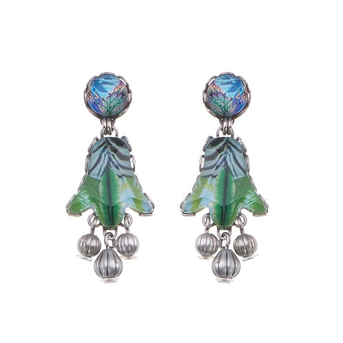 Sweet Leaf Wind Earrings by Ayala Bar R1374