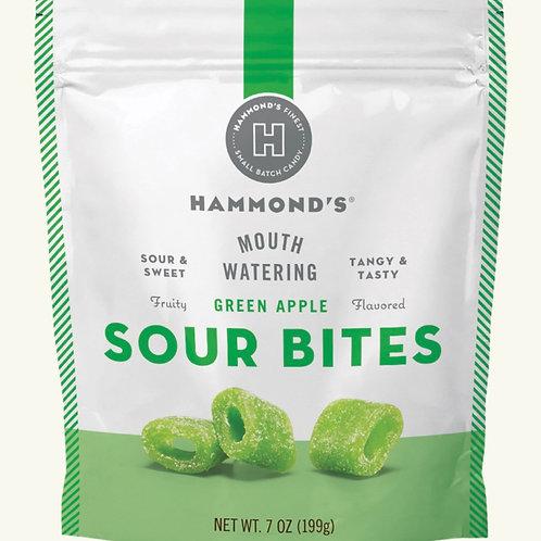 Green Apple Sour Bites by Hammond's Candies
