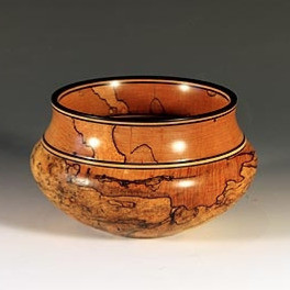Turned Wood Bowl by Tom Clark