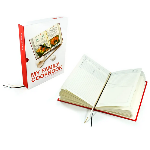 My Family Cookbook by SUCK UK