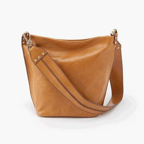 Flare Shoulder Bag in Honey by HOBO