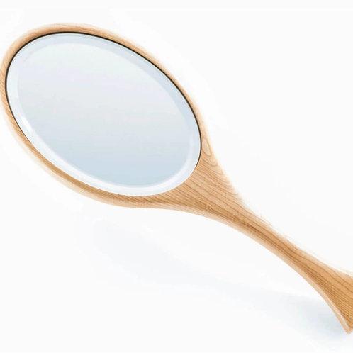 Wooden Hand Mirror by Davin & Kesler