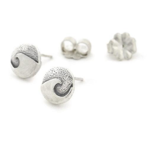 Mini Cresting Wave Post Earrings