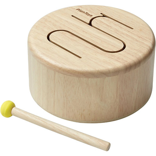 Solid Drum in Natural by PlanToys