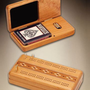 Cribbage boards by Heartwood Creations