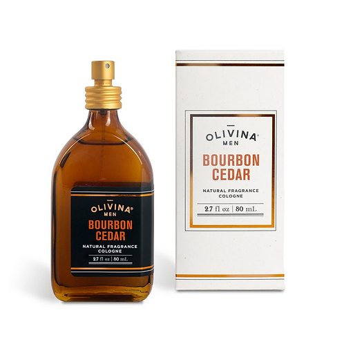 Bourbon Cedar Cologne by Olivina Men