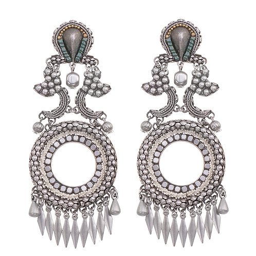Indigo Artic Wolf Earrings by Ayala Bar (N1390)