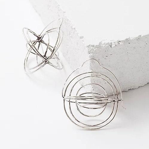 Rattle Earrings by Zuzko
