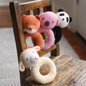 Crocheted Rattles by Cheengo