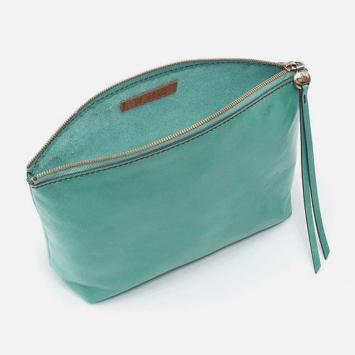 Collect Pouch in Seafoam Green by HOBO