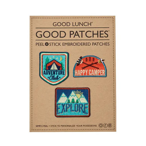 Camping Patches by Living Goods