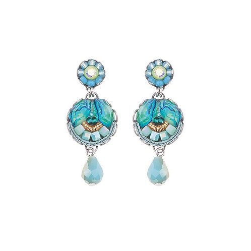 Clear Water Rees Earrings by Ayala Bar C1290