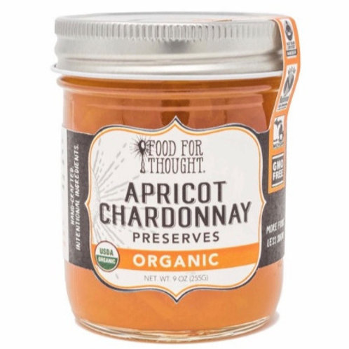Organic Apricot Chardonnay Preserves by Food For Thought