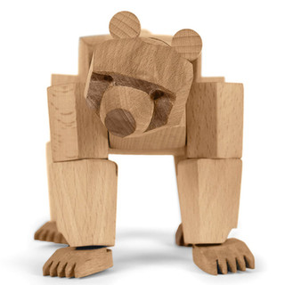 Adjustable Wood Bear by Areaware