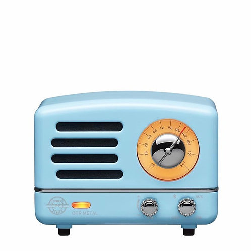 Muzen OTR Metal Radio - Sky Blue