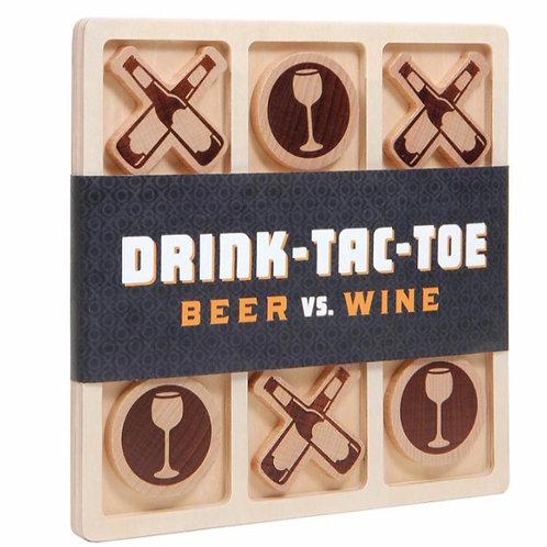 Drink-Tac-Toe Game
