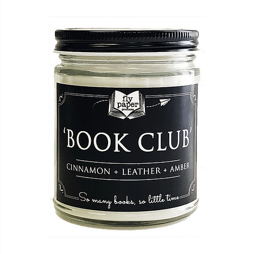 'Book Club' Candle by Fly Paper Products