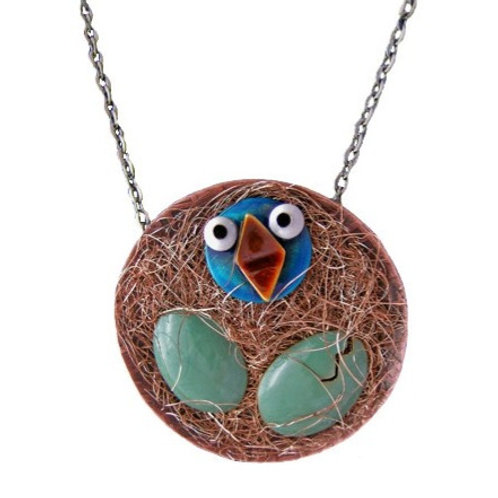 Early Bird Necklace by Chickenscratch