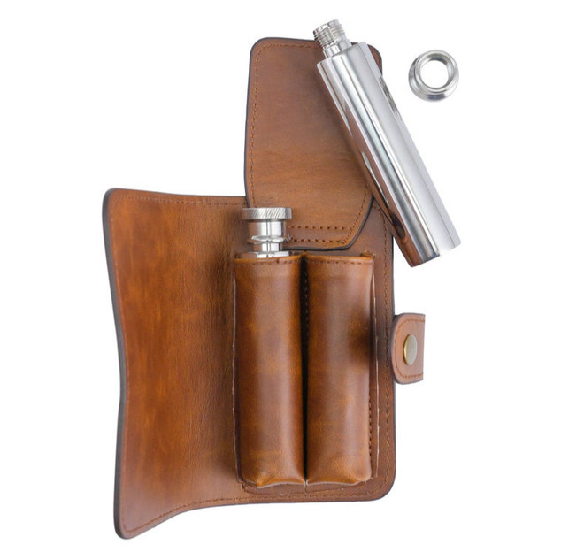 Bullet Flasks by J.C. & Rollie