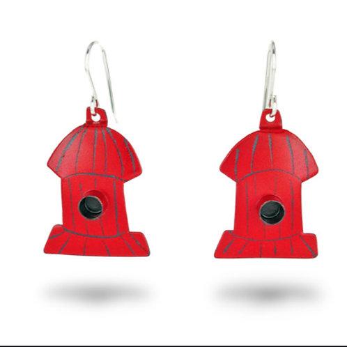 Hydrant Earrings by Chickenscratch