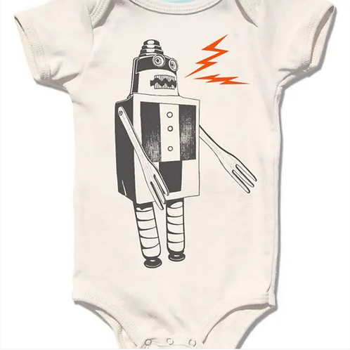 Baby Build A Robot Onesie