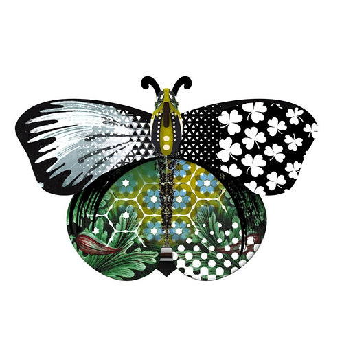 Aida Butterfly Wall Art by Miho Unexpected Thing