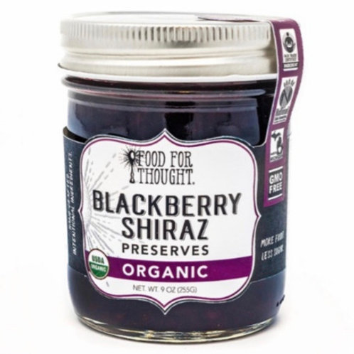 Organic Blackberry Shiraz Preserves by Food For Thought