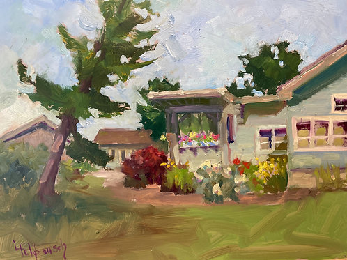 'Bowers Harbor  -- Mission Point ' by Lori Feldpausch