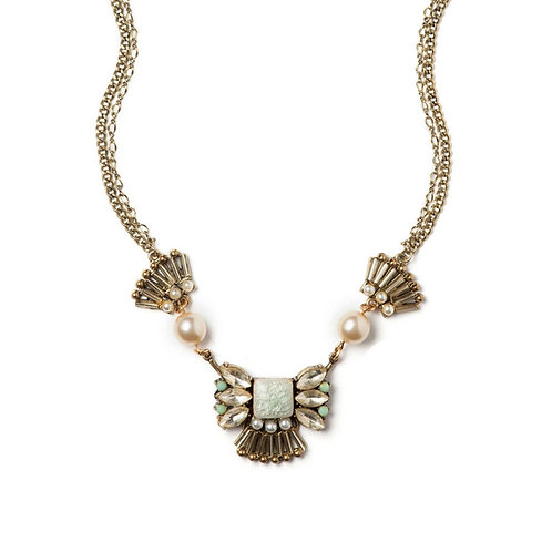 Pearly Elegance Necklace by Elements Jill Schwartz