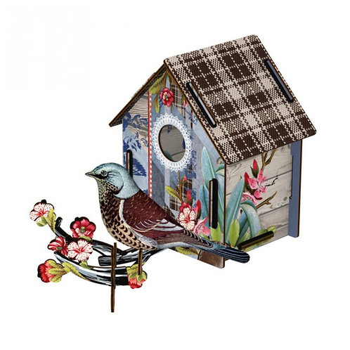 """""""I'm Back!"""" Birdhouse by MIHO Unexpected Things"""