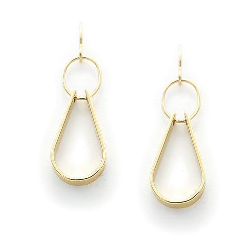 14kt Gold Filled Double Drop Earrings by J & I - LGX210E