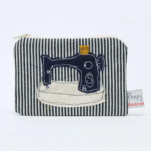Embroidered Small Sewing Useful Purse by Poppy Treffry