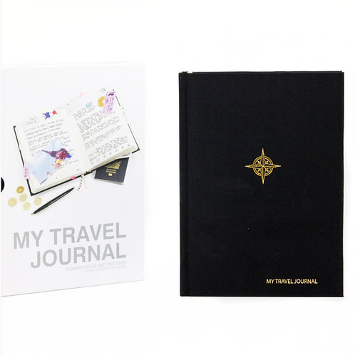 My Travel Journal in Black by SUCK UK