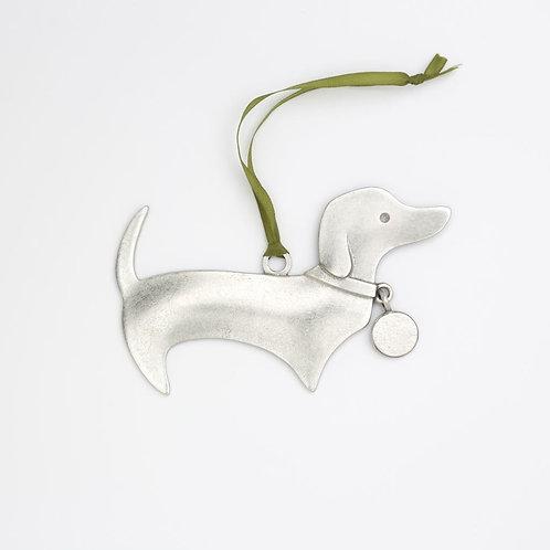 Dachshund Ornament by Beehive Handmade