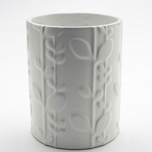 Laurel Ceramic Utensil Holder by Beehive Handmade