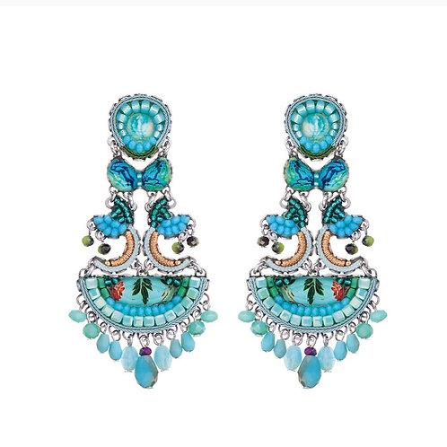 Clear Water Corin Earrings by Ayala Bar C1284